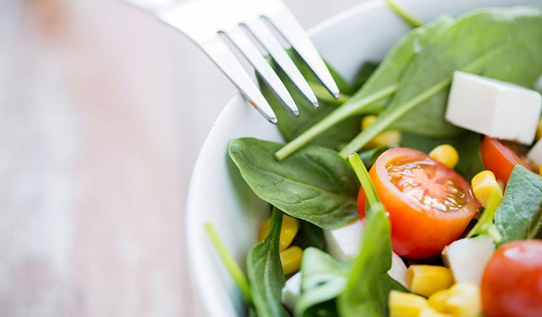 Vegetarian food is cheaper.