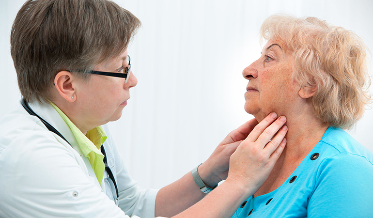 Hypothyroidism can be diagnosed with blood tests and treated with medication accompanied by dietary changes