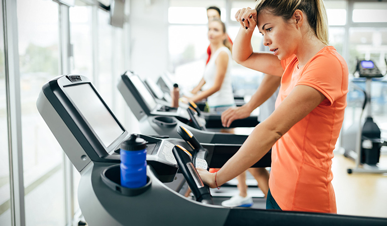 Doing too little or excess cardio might prove ineffective for calorie loss