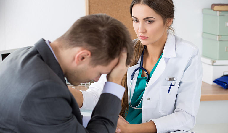 Doctors don't want you to feel embarrassed about explaining your condition