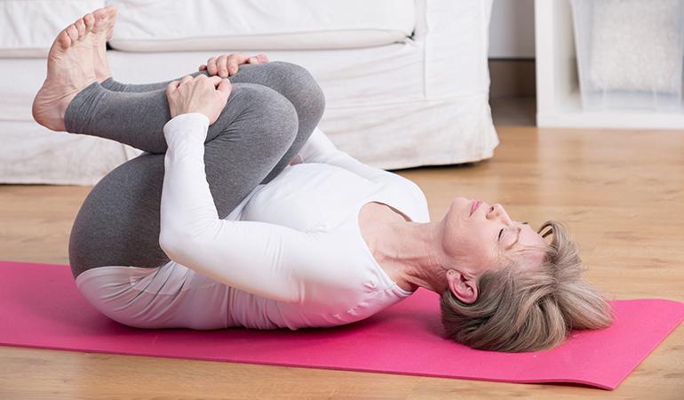 Double-Knee Torso Rotation