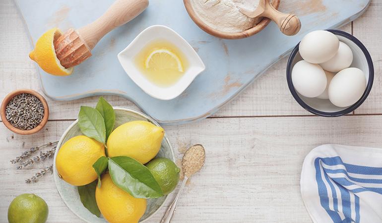 Eggs, lemon juice, and yogurt can quickly improve hair health
