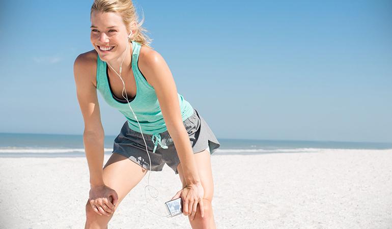 Take to a workout routine you enjoy for maximum benefit