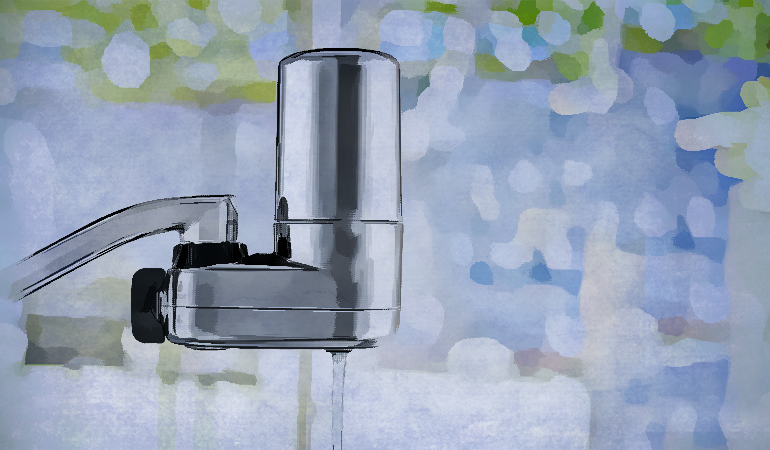 Faucet filters are easy to use and eliminate several contaminants