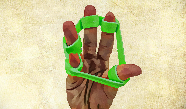 inger Extend Exercise Can Strengthen Your Hand Grip