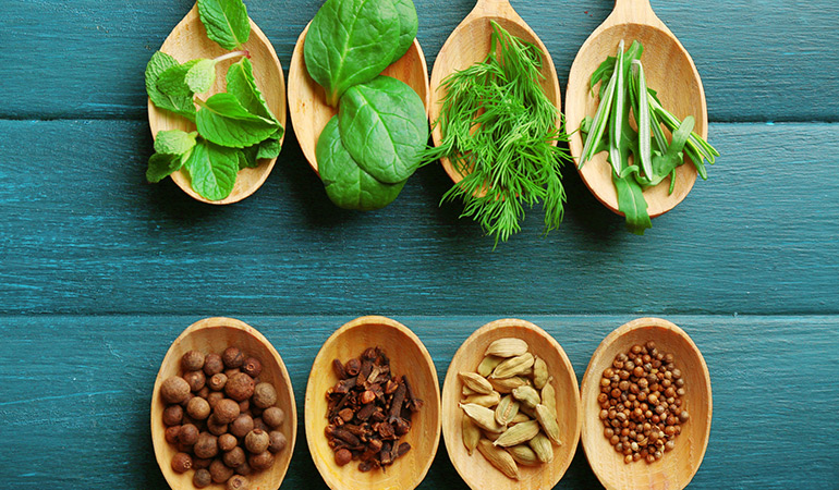 Cooking and seasoning with herbs minimizes the harmful effects of too much sodium.