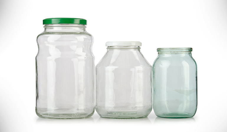 Glass containers are safer than plastic and look stylish