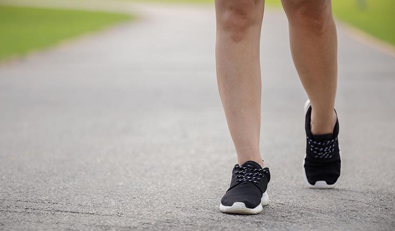 Half lunge improves hip mobility.