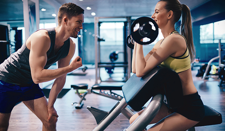 Start Strength Training Under The Guidance Of An Instructor