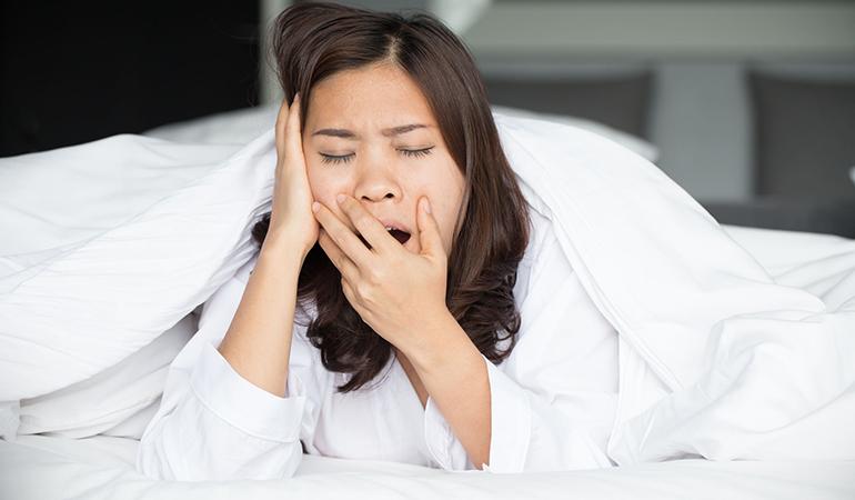 Hinders your ability to sleep long-term
