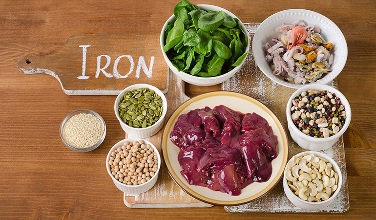 Include Iron-Rich Foods