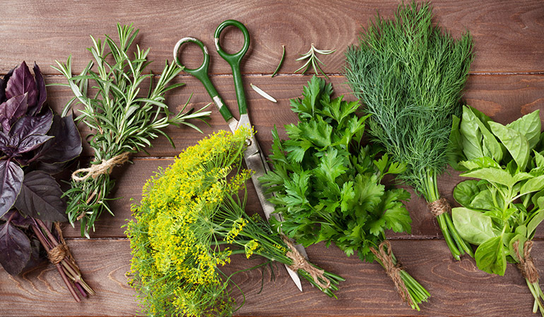 Herb gardening is incredibly easy since it requires very little maintenance.