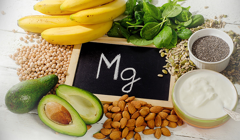 Magnesium-rich foods prevents chronic constipation