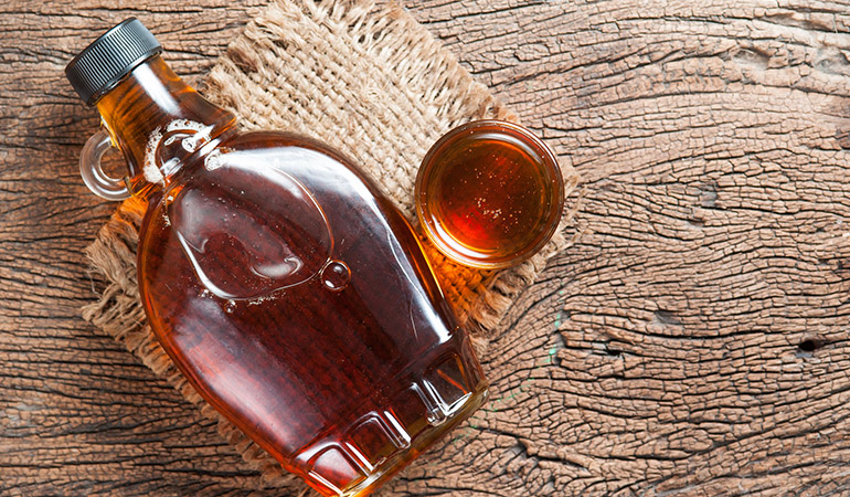 Maple syrup is nutrient rich.