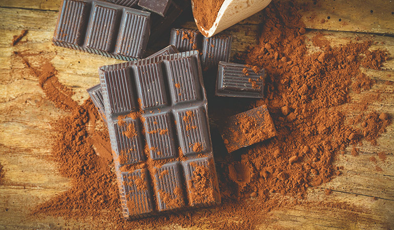 Chocolate should not have additives and sugars.