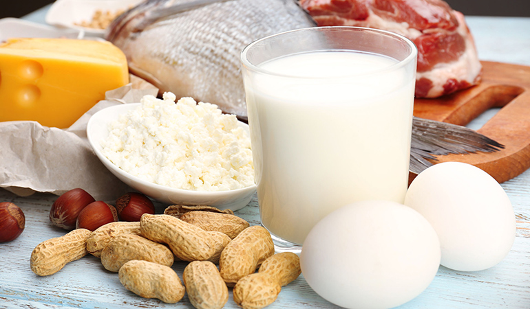 Animal protein is more of a side dish with the most preferred sources being chicken, eggs, and cheese.