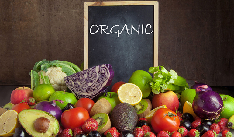 """""""Organic"""" produce isn't more nutritious."""
