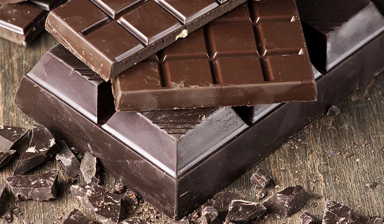 Always buy organic chocolate