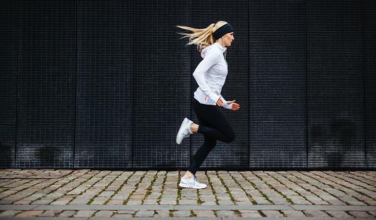 Give yourself an intense workout with outdoor HIIT