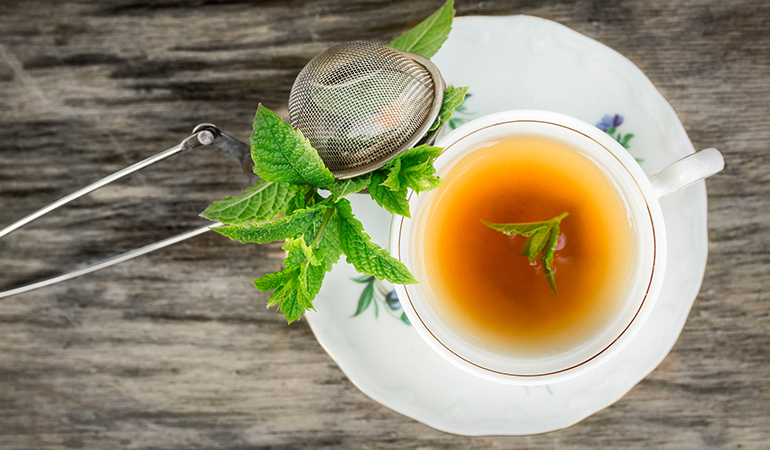 Peppermint can relieve heartburn and indigestion