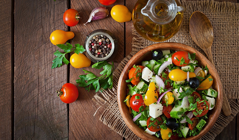 Minimally processed plant-based foods in their most natural form are the staples of this diet.