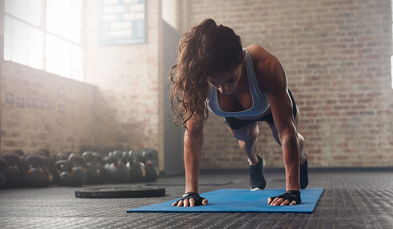 Push yourself reasonably while working out to achieve your fitness goals faster