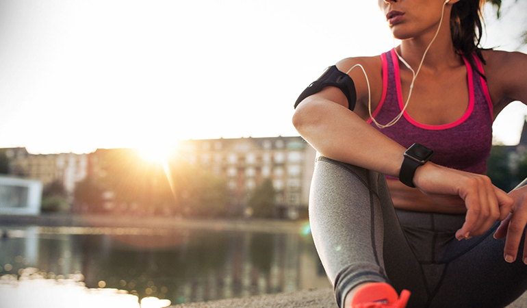 Rest to allow your body to recover after working out every day