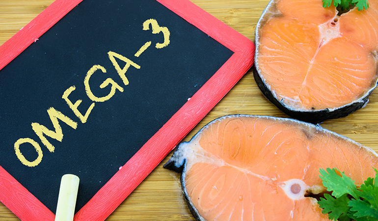 The Mediterranean diet recommends eating fatty seafood that's rich in heart-healthy omega-3 fatty acids.