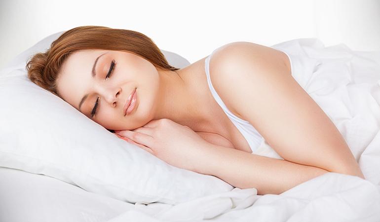 To stop hitting snooze sleep early