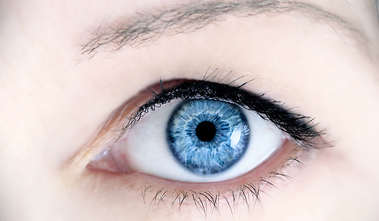 Sparse eyebrows and eyelashes are often an indication of thyroid problems