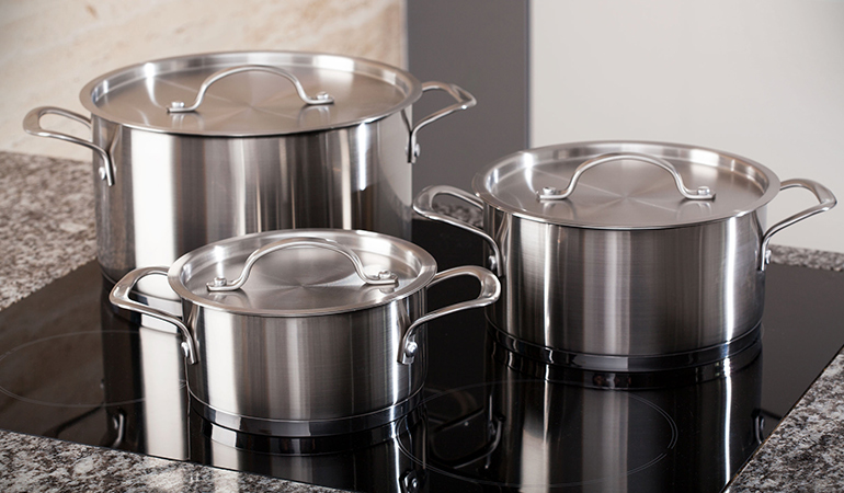 Stainless steel containers are very durable and easy to maintain