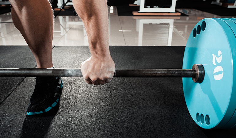 Static Barbell Hold Can Strengthen Your Hand Grip
