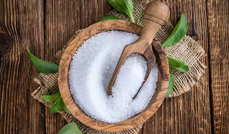 Stevia promotes weight loss.