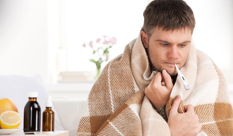 Postorgasmic illness syndrome is usually accompanied by flu-like symptoms