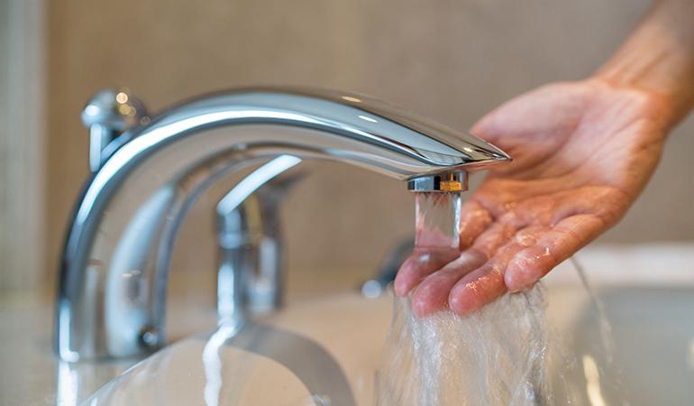 Take a warm bath to break a fever.