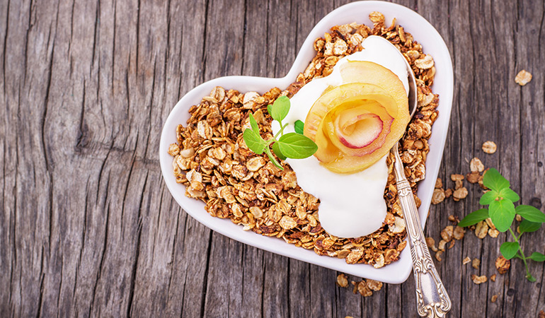 Oatmeal is great if you want to lose weight