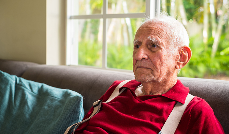 Vacsular dementia patients are more depressed.