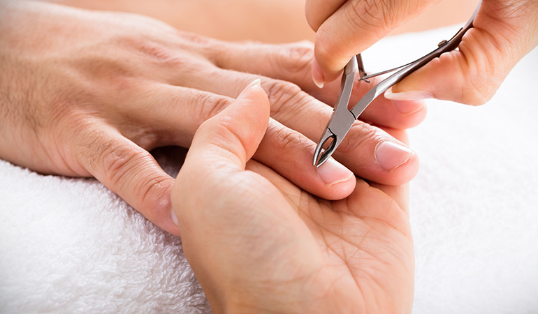 Avoid trimming cuticles