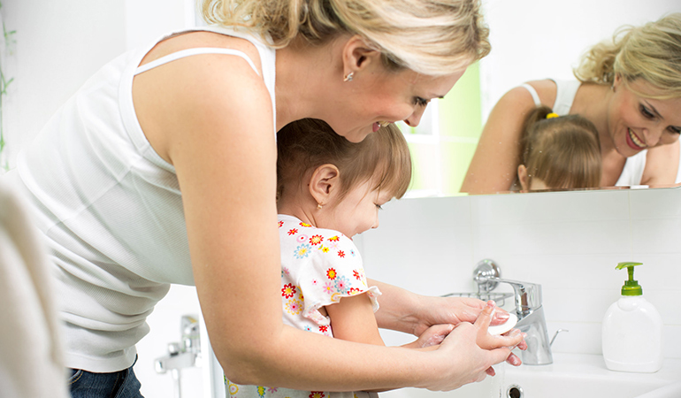 Thoroughly Washing Hands With Soap And Water May Prevent Fifth Disease