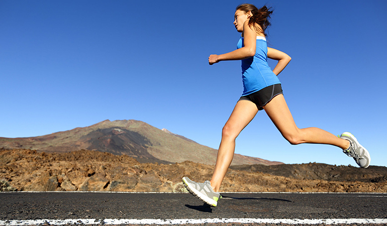 Try trail running to improve your circulation and engage your muscles more