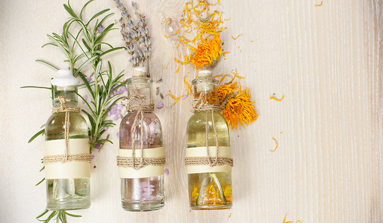 Aromatherapy helps calm you down and sleep better