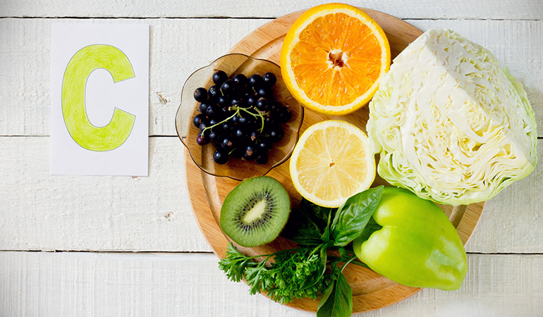 Vitamin C aids in digestion and smooth bowel movement