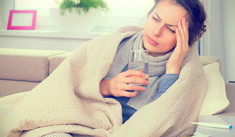 Fever is your body's defence against infections.