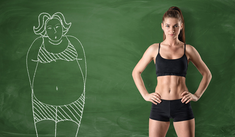 With Regular Exercise Excess Fat Can Be Controlled