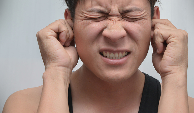 Earwax is made of sebum, dead skin cells, and a structural protein called keratin