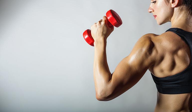 Dumbbells Are Common Strength Training Equipment