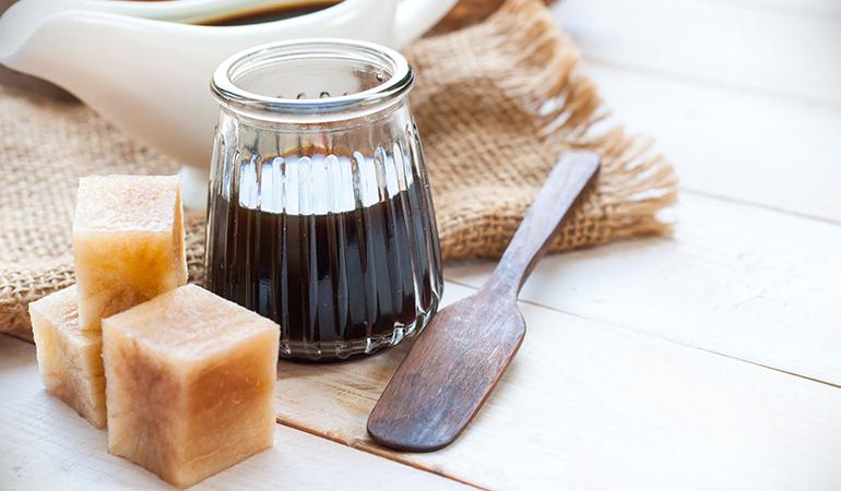 Yacon syrup promotes gut health.