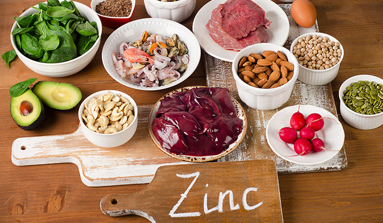 Zinc-rich foods will allow for improve the function of immune cells