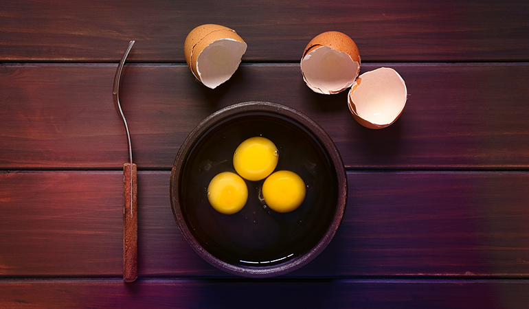 Causes of an egg allergy