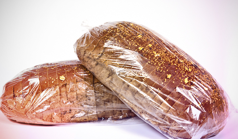 Store-bought whole grain is often just grains and additives mixed in refined flour bread.